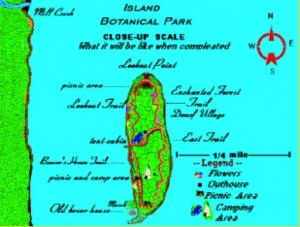 Le rêve de Jean Paull d'un jardin botanique sur l'île Farr