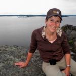 Nicole Guertin co-propriétaire des Suites des Présidents eh haut du rocher du diable ( Devil's Rock) dans la belle région du Témiskaming