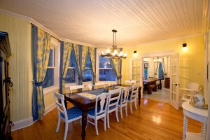 Lumber Barons House Dining Room great for receptions, reunions and gatherings.