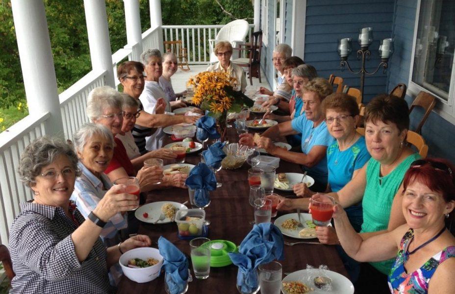 Repas famille et amis aux Suites des Présidents