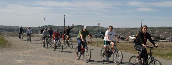 Le vélo à Temiskaming Shores