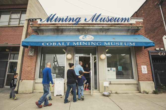 Discover the Cobalt Mining Museum