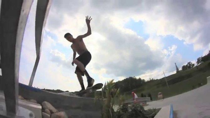 le Harder For Carter Skate Park