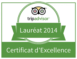 The Presidents' Suites receives the Trip Advisor 2014 Certificate of Excellence recognition 8 Les Suites des Présidents obtiennent la reconnaissance certificat d'excellence 2014 de Trip Advisor