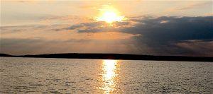 sunrise in Temiskaming / levé de soleil au Témiskaming