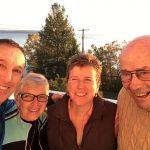Notre équipe pendant notre journée à découvrir le tour du lac Témiscamingue