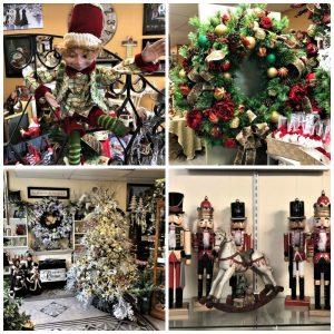 grande variété de cadeaux et décorations de Noël