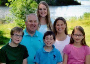 Famille Boucher propriétaire de la petite maison croche à Haileybury