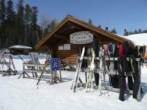 Chalet au club de ski de fond Temiskaming Nordique