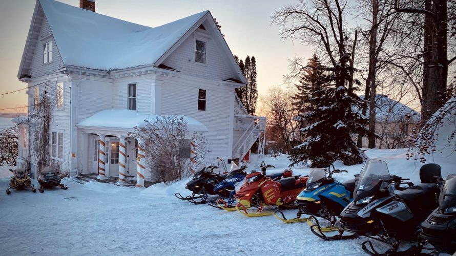 vacances motoneige motocyclette