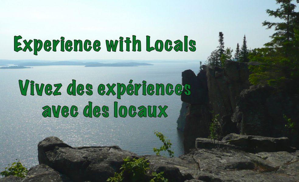 vivez l'expérience Temiskaming avec des locaux. Vivez l'expérience locale.