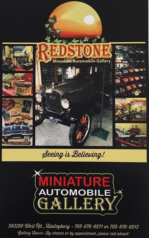 Redstone la galerie de voitures miniatures au Temiskaming