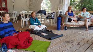 Atelier de bien-être à l'île Farr